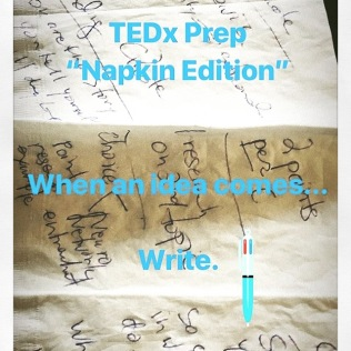 TEDX Napkin Edition