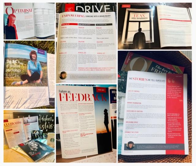 Dr. Andrea Dinardo Psychology Magazine Articles