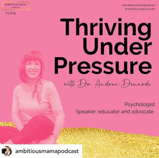 Dr. Andrea Dinardo Ambitious Mama Podcast