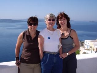 Noelle Mom Andrea Europe Trip